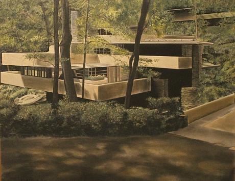 La casa de la cascada de Frank Lloyd Wright