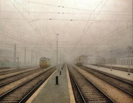 Esperando la Salida (Estación de Ávila)