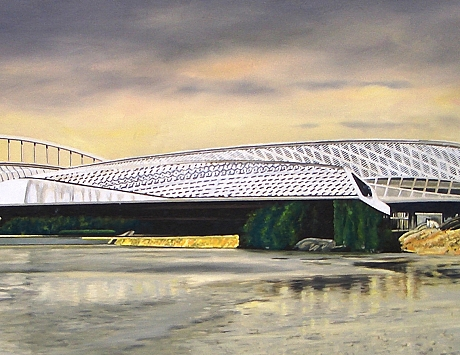 Pabellón puente de Zaragoza de Zaha Hadid
