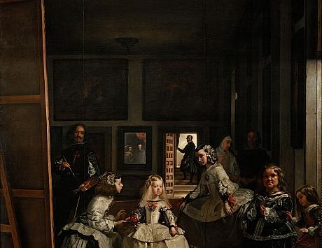Copia de las Meninas de Velázquez