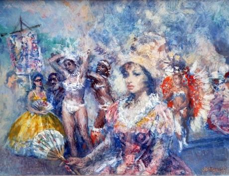Estudio tema de carnaval