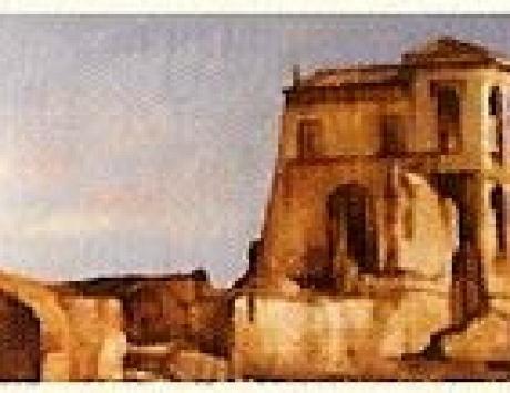 Casa romana (tríptico)