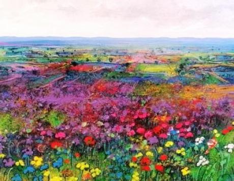 Violetas en la Mancha